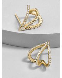 BaubleBar - Stretta Everyday Fine Hoop Earrings - Lyst