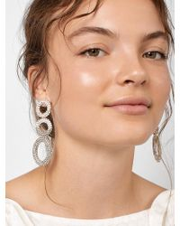 BaubleBar - Mimi Hoop Earrings - Lyst