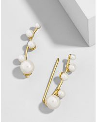 BaubleBar - Mistletoe Ear Crawlers - Lyst
