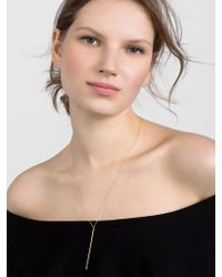 BaubleBar - Mara 18k Gold Plated Necklace - Lyst