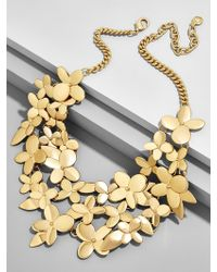 BaubleBar - Tansy Flower Statement Necklace - Lyst