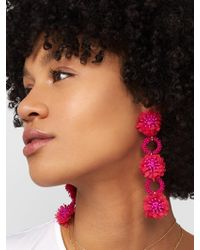 BaubleBar - Vernita Flower Drop Earrings - Lyst