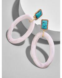 BaubleBar | Tristine Hoop Earrings | Lyst