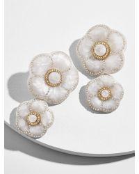 BaubleBar - Marilene Resin Flower Earrings - Lyst