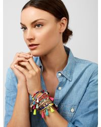 BaubleBar - Saradora Tassel Bracelet - Lyst