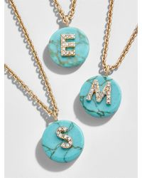 BaubleBar - Chromatic Initial Pendant Necklace - Lyst