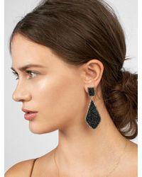 BaubleBar - Twilight Druzy Drop Earrings - Lyst