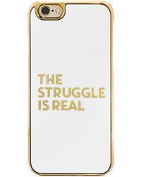 BaubleBar - Amanda Struggle Cover Up Iphone 6/6s Case - Lyst
