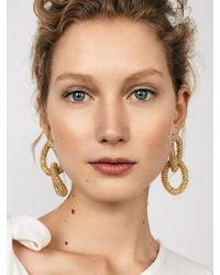 BaubleBar - Mikala Hoop Earrings - Lyst