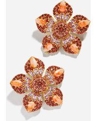 BaubleBar - Petronila Flower Stud Earrings - Lyst