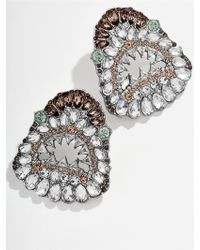 BaubleBar - Great White Stud Earrings - Lyst