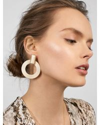 BaubleBar - Marisela Hoop Earrings - Lyst