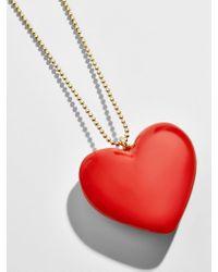 BaubleBar Alvena Heart Pendant Necklace