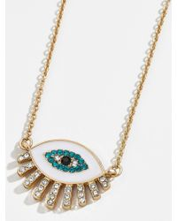 BaubleBar Athena Pendant Necklace
