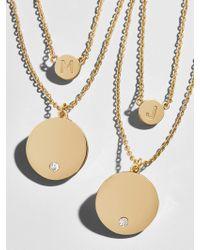 BaubleBar - Alpha Layered Necklace - Lyst
