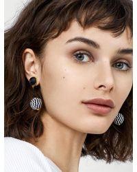 BaubleBar - Emalina Ball Drop Earrings - Lyst