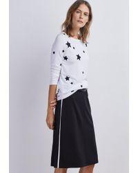 Baukjen - Millie Contrast Skirt - Lyst