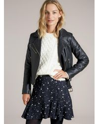 Baukjen - Luna Ruffle Skirt - Lyst