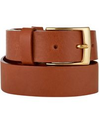 Baukjen - Classic Gold Buckle Belt - Lyst