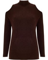 Baukjen - Dahlia Cut Out Jumper - Lyst