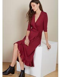 Baukjen - Meghan Ruffle Dress - Lyst