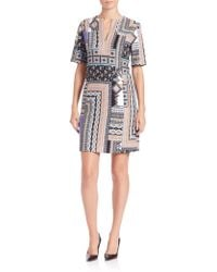 Nanette Lepore | Patchwork Tunic Dress | Lyst