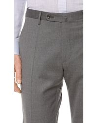Incotex Basic Slim Fit Dress Trousers - Lyst