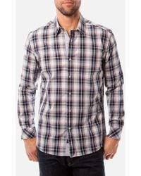 7 Diamonds 'One More Day' Trim Fit Woven Sport Shirt - Lyst