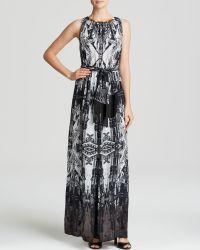 Twelfth Street Cynthia Vincent Maxi Dress - Sleeveless Printed - Lyst
