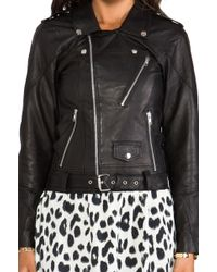 Spell & The Gypsy Collective The Spell Easy Rider Leather Jacket in Black - Lyst