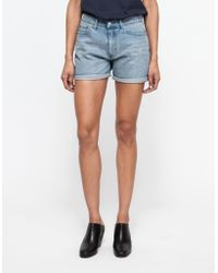 Cheap Monday Thrift Short In Whale blue - Lyst