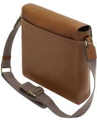 Mulberry - Maxwell Slim Leather Messenger Bag  - Lyst