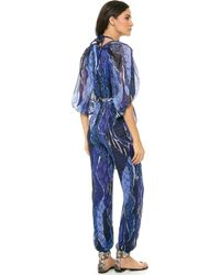 Matthew Williamson Escape Hareem Jumpsuit - Lyst
