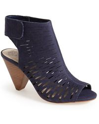 Vince Camuto 'Estell' Open Toe Bootie - Lyst