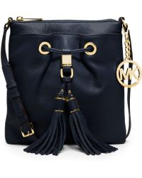 Michael Kors Michael Middleton Drawstring Crossbody - Lyst