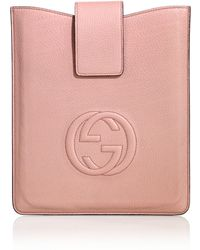 Gucci Soho Leather Case For Ipad 1, 2 & 3 - Lyst