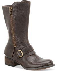 Born - Aubra Mid-shaft Boots - Lyst