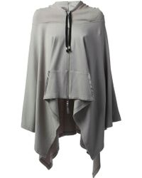 Unconditional - Poncho Hoodie - Lyst