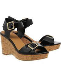 Office Winchester Cork Wedges - Lyst