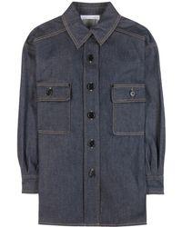 Chloé Denim Shirt - Lyst