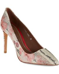 Donald J Pliner Phillo Pumps - Lyst