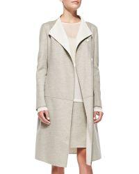 Karolina Zmarlak | Reversible Wool Wrap Coat | Lyst