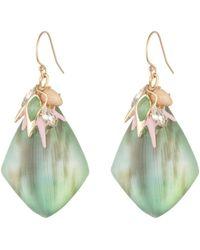 Alexis Bittar Desert Jasmine Cluster Drop Earring gold - Lyst