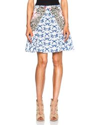 Stella McCartney Mini Skirt - Lyst