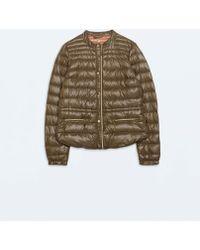 Zara Ultralight Short Down Jacket - Lyst