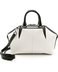 Alexander Wang Soft Emile Doctor Bag - Black And White - Lyst