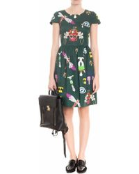 Mary Katrantzou Julie Cotton Printed Dress - Lyst