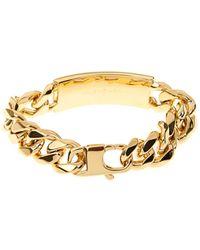 Balenciaga Classic Stud Chain Bracelet - Lyst