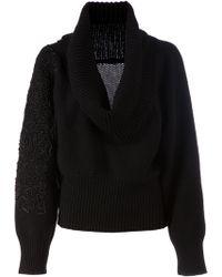 Sharon Wauchob - Cowl Neck Sweater - Lyst
