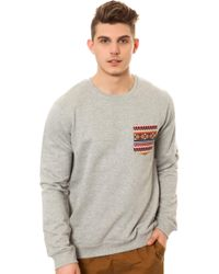 Wesc The Kelim Pocket Sweatshirt - Lyst